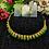 Thumbnail: ABA - Dark Green and golden necklace Set
