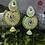 Thumbnail: ABA – Fan Shaped Stone Studded Jhumkas