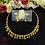Thumbnail: ABA -  Golden necklace Set