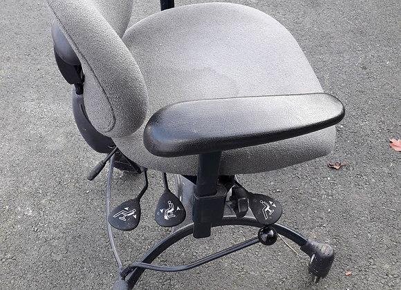 Chaise de bureau manuelle