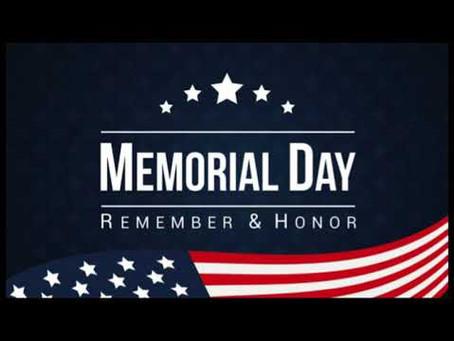 Memorial Day Weekend at Bausman UCC
