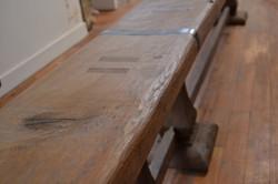 Table et banc exceptionnels design