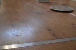 Table plateau chêne foucault