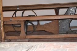 Table foucauld ébéniste design