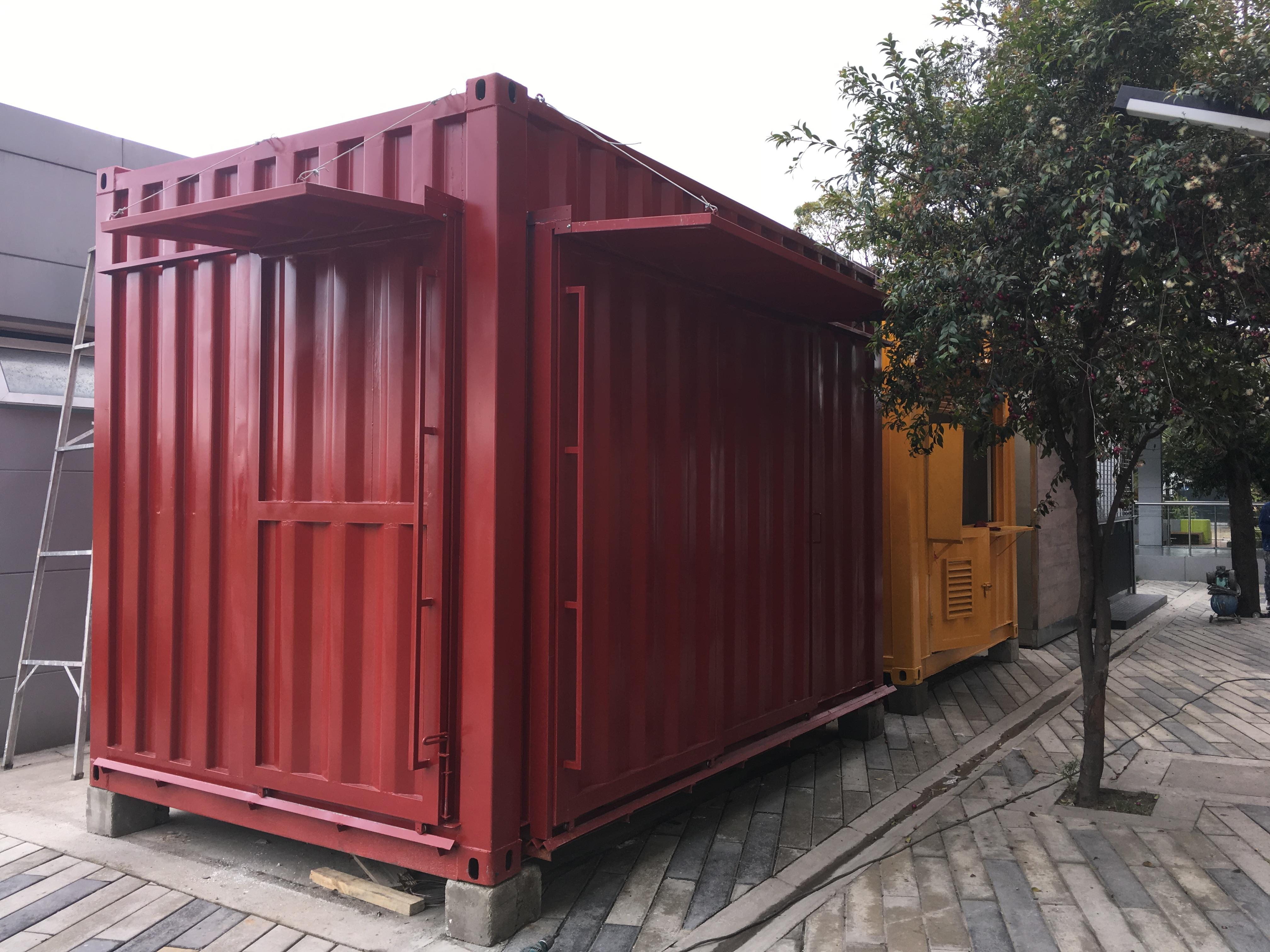 Restaurante en containers