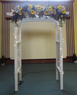 Fresh Flower Arbor Decorations