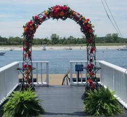 Fresh Flower Archway