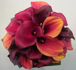 Mixed Fall Calla Lilies