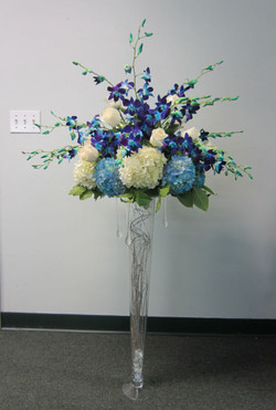 Hydreangea & Orchids.JPG