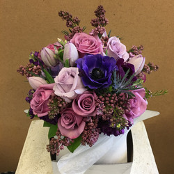 Mixed Purple Flowers