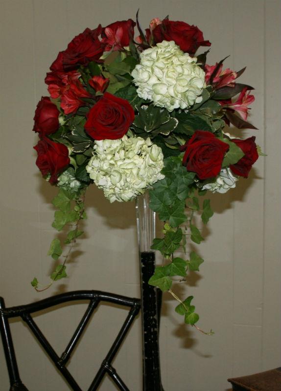 Hydrangea & Roses.JPG