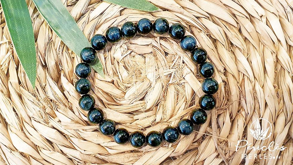 Bracelet Oeil de Faucon qualité AA • 8 mm - perles rondes