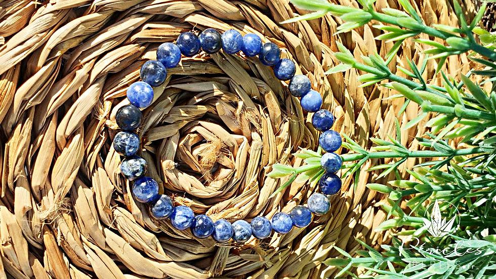 Bracelet Sodalite qualité A • 6 mm - Perles rondes