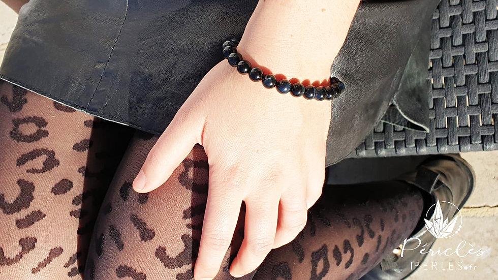 Bracelet Oeil de Faucon qualité AA • 6 mm - perles rondes