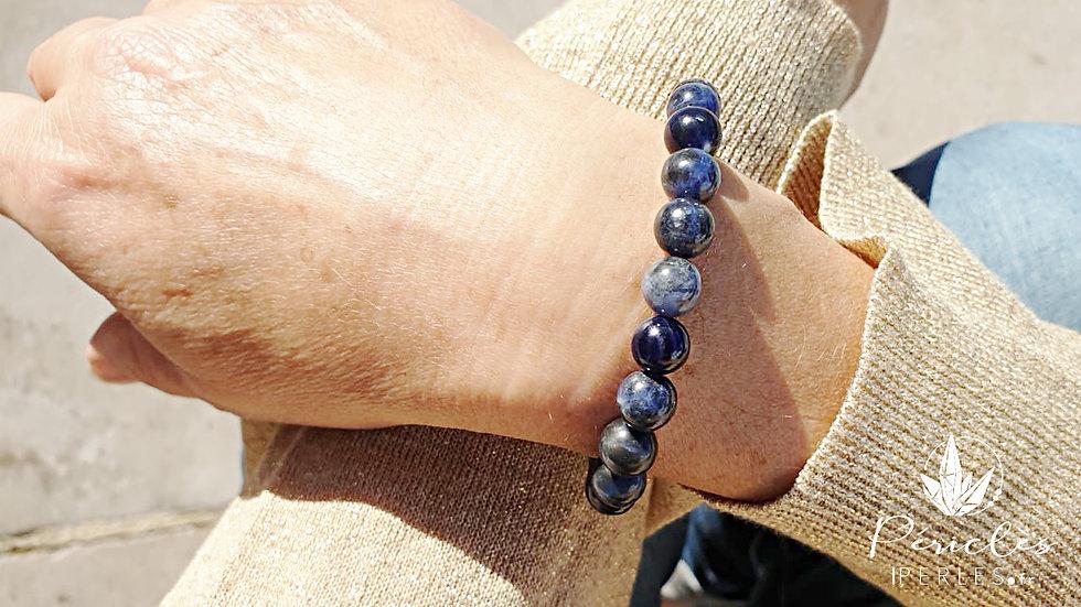 Bracelet Sodalite qualité A • 8 mm - Perles rondes