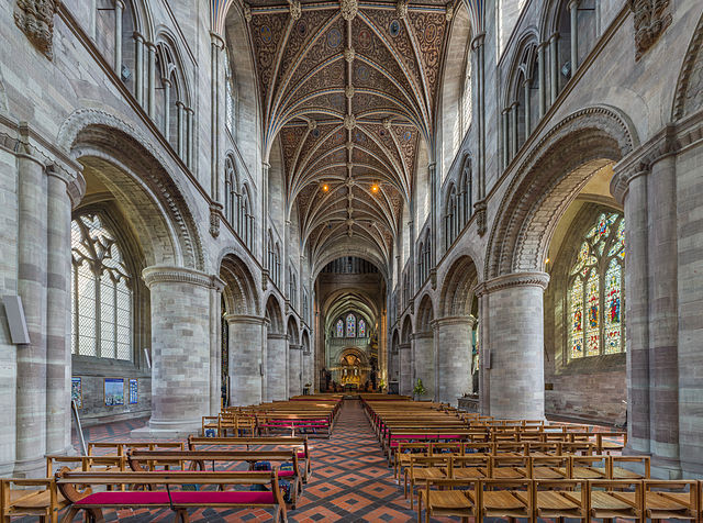Hereford Cathedral, Herefordshire