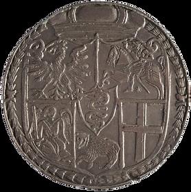 Lithuanian coin półkopek. Tykocin, 1564