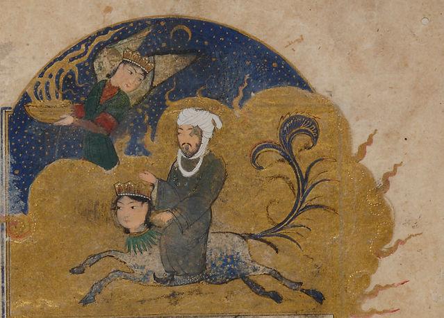 Nizami's Makhzan al-asrar, the first book in Five Poems. Copied by Mir Ali ibn al-Yasi al-Tabrizi al-Bawargi. Western Iran, 1388. Courtesy of The David Collection, Denmark, inv. no. 20/2008. Photo by Pernille Klemp.
