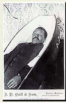 J. P. Ball Photograph of William Biggerstaff, former slave, born in Lexington, KY in 1854 (1896).