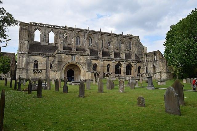 Ruins of Malmesbury Abbey, Hugh Llewelyn from Keynsham, UK