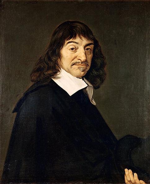 RenéDecartes, portrait by Frans Hals, circa 1649.