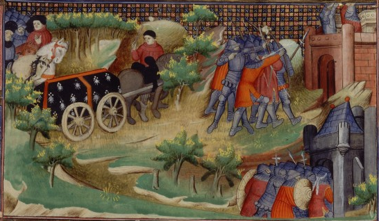 Death of John III of Brittany and the Siege of Brest