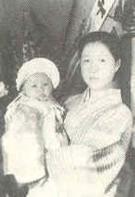 Fukuko with oldest daughter Kazuko