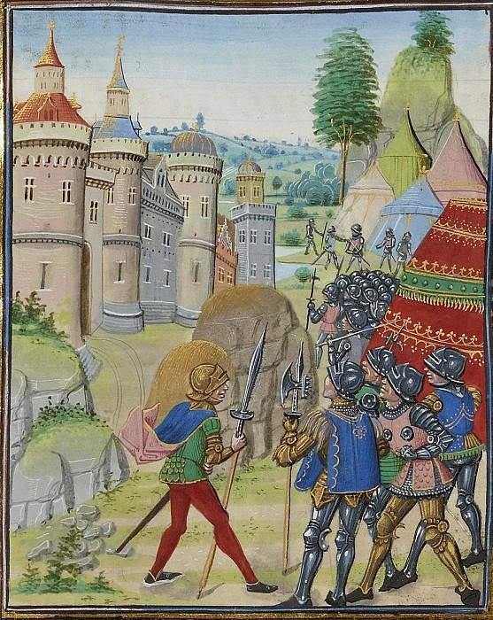 Siege of Brest 1373 Bertrand du Guesclin