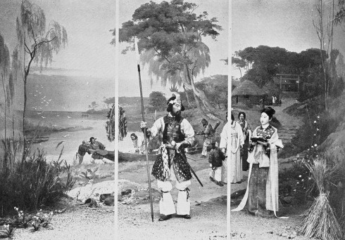 Re-enactments of moments in Japanese history