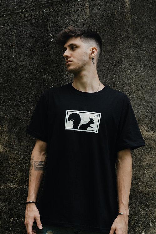 Camiseta Preta Box
