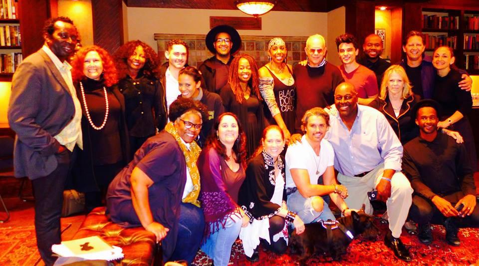 Shout Sister Shout workshop cast