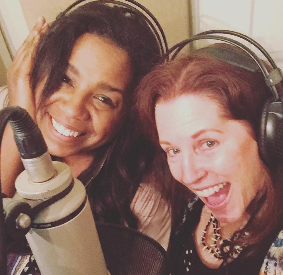 Studio vox with Sylvia