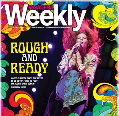 Pasadena Weekely cover