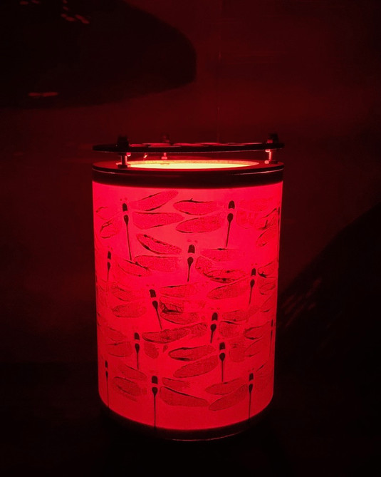 Nightlight - red globe illumination