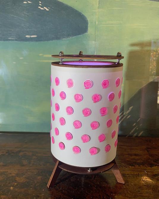 Pink stamp - Daylight no illumination
