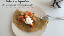 Easy and Healthy Banana Coconut Polka Dot Crepes- Gluten and sugar free