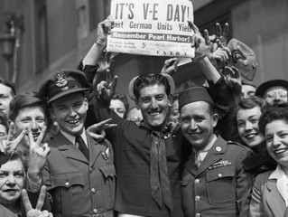 V-E Day is Celebrated