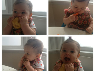 More Baby Led Weaning In Action