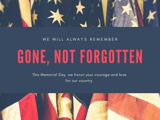 Honoring Those We've Lost