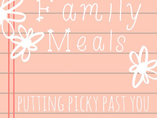 Put picky past you: The value of the family meal