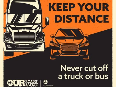 Watch Out for Trucks in Work Zones