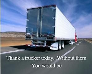 Thank a Trucker!