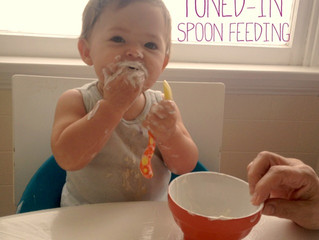 Baby Led Spoon Feeding