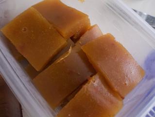 Homemade Sparkling Nectarine Jello