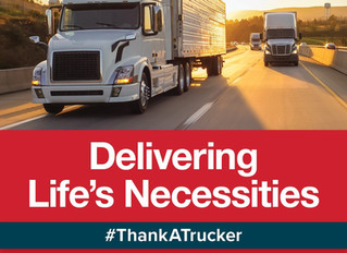 Thank a Trucker During COVID-19