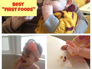 Best First Foods
