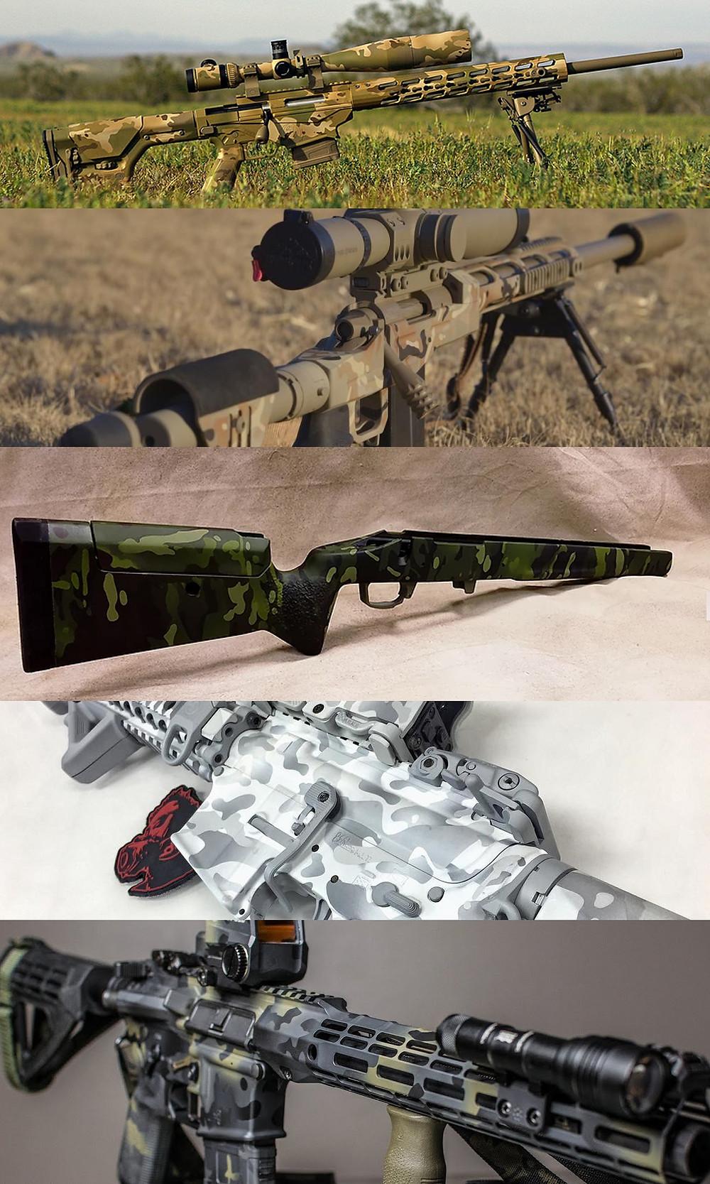multicam, crye precision, cerakote, camouflage