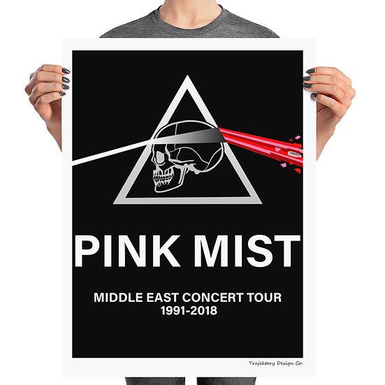 Pink Mist Concert Poster Art Print