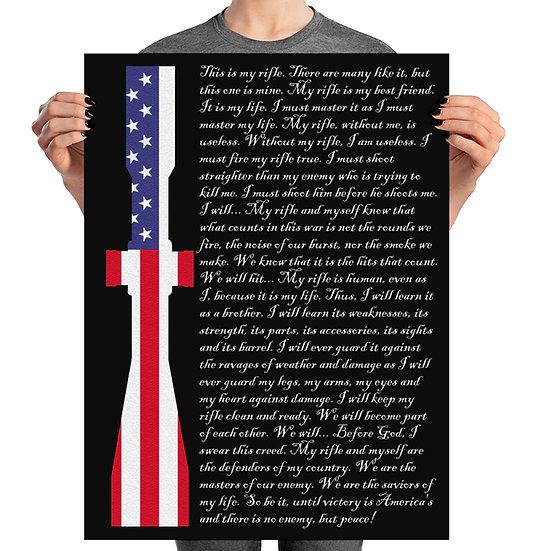 Gun poster, pro gun, 2a, trajektory, trajectory, gun art 2nd amendment, long range shooting, sniper
