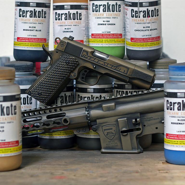 rifle supply 1911 ar15 cerakote